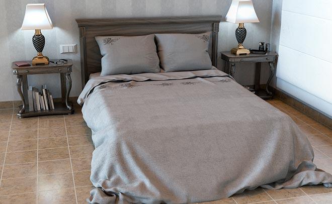 постельное белье из льна