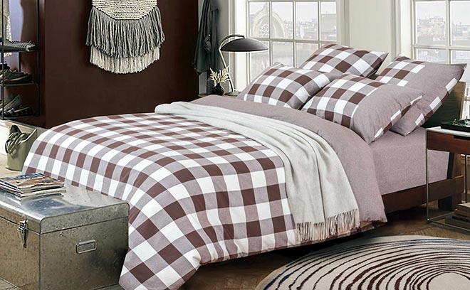 постельное белье лен